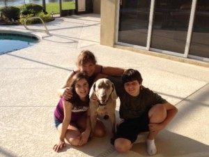 troy with family in forever home