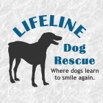 lifeline dog rescue logo